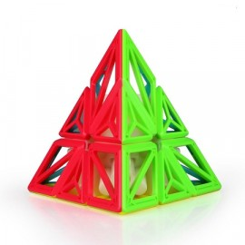 Cubos Rubik Qiyi DNA Pyraminx 3x3 Colored
