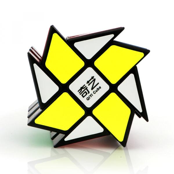 Cubos Rubik QiYi Wind Fire Negro