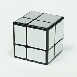 Cubos Rubik Qiyi Mirror 2x2 Plata