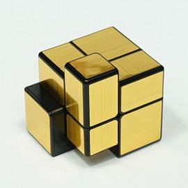 Cubos Rubik Qiyi Mirror 2x2 Dorado