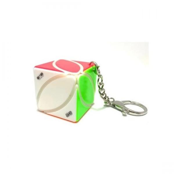 Cubos Rubik QiYi Llavero Ivy Cube Milk