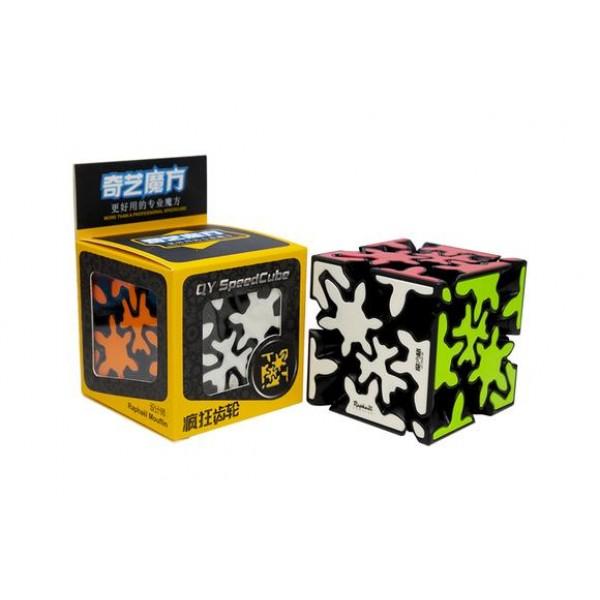 Qiyi Crazy Gear Cube Negro