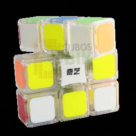 Cubos Rubik Qiyi Floppy 3x3x1 Transparente