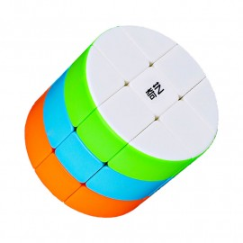 Cubos Rubik Qiyi Column Barrel 3x3 Colored