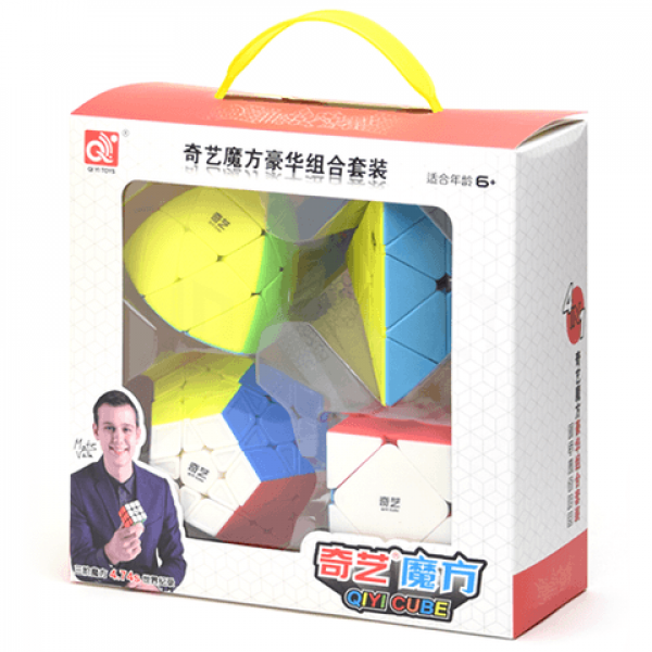 Cubos Rubik QiYi Gift Irregular Colored