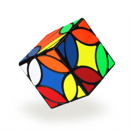 Cubo Rubik MFG Qiyi Coin Cube Negro