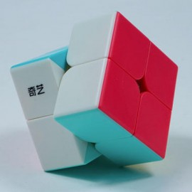 Cubo Rubik Qiyi Neon 2x2 Macaron