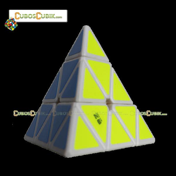 Cubos Rubik MoFangGe QiMing Pyraminx Base Blanca