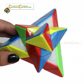 Cubos Rubik MoFangGe QiMing Pyraminx Colored