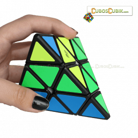 Cubos Rubik MoFangGe QiMing Pyraminx Base Negra