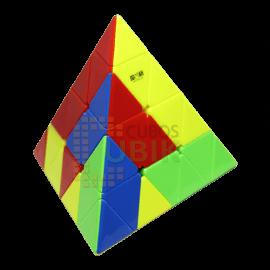 Cubos Rubik QiYi Pyraminx 4x4 Colored