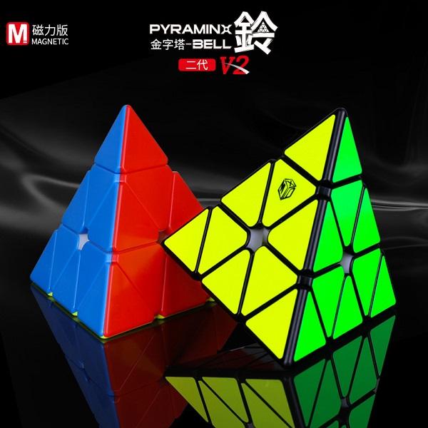 Cubos Rubik MFG XMD Pyraminx V2 M Negro