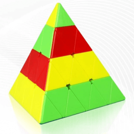 Cubos Rubik QiYi Pyraminx 4x4 Colored