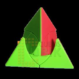 Cubos Rubik Qiyi Pyraminx Duomo Colored