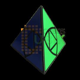 Cubos Rubik Qiyi Pyraminx Duomo Negro