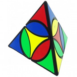 Cubos Rubik Qiyi Coin Pyraminx Negro