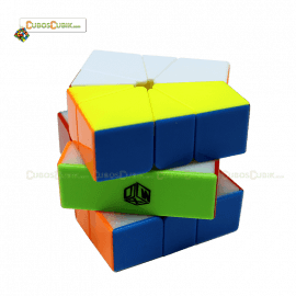 Cubos Rubik MoFangGe Square 1 Volt X-Man Colored