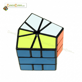 Cubos Rubik Qiyi XMAN Volt Square-1 Negro