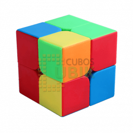 Cubos Rubik Moyu Lingpo 2x2 Colored