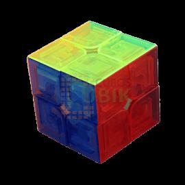 Cubos Rubik Moyu Lingpo 2x2 Transparente