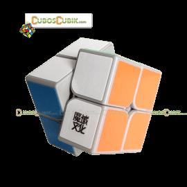 Cubos Rubik Moyu Tangpo 2x2 Base Gris
