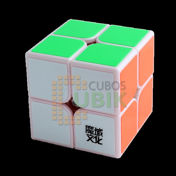 Cubos Rubik Moyu Tangpo 2x2 Base Rosa
