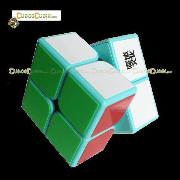 Cubos Rubik Moyu Tangpo 2x2 Base Verde