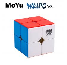 Cubos Rubik Moyu Weipo WR 2x2 Colored