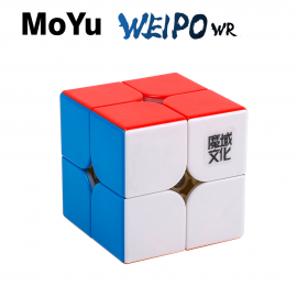 Cubos Rubik Moyu Weipo WR M 2x2 Colored