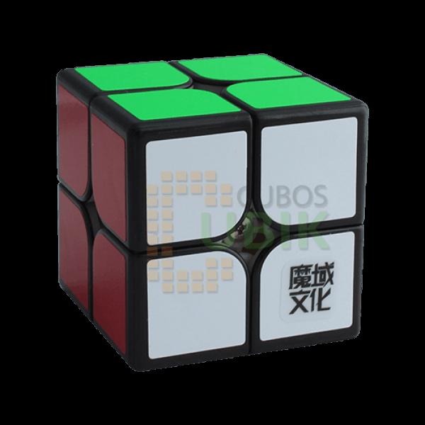 Cubos Rubik Moyu Weipo WR M 2x2 Negro