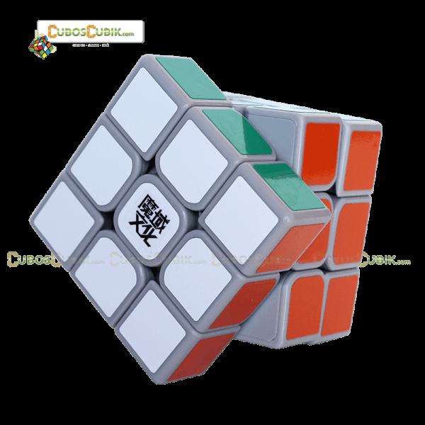 Cubos Rubik Moyu 3x3 Aolong GT Base Gris