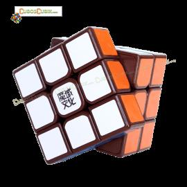Cubos Rubik Moyu 3x3 Aolong GT Base Café