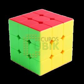 Cubos Rubik Moyu 3x3 Aolong V2 Colored Plus