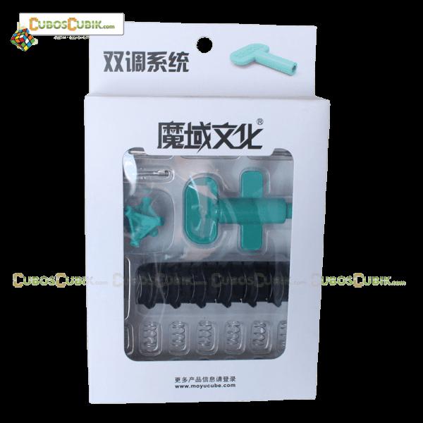 Cubos Rubik Moyu Weilong GTS  Pack Tornillos y Tensiones