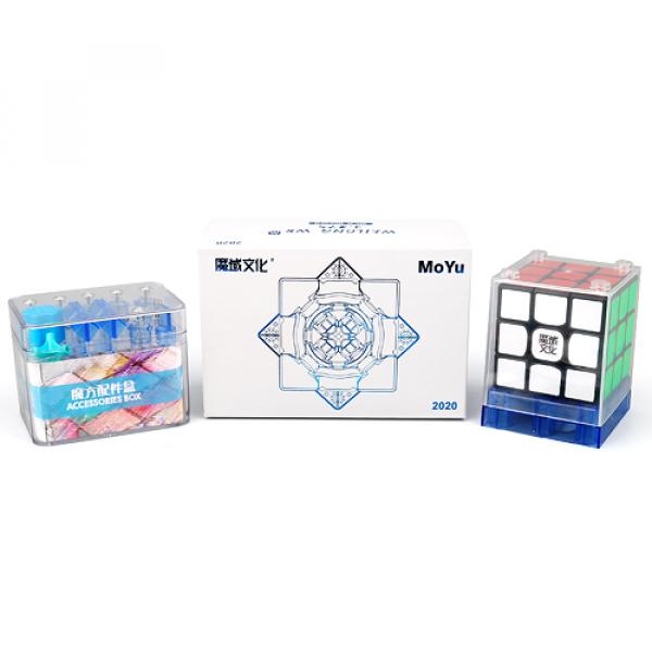 Cubos Rubik MoYu Weilong WRM 2020 Negro