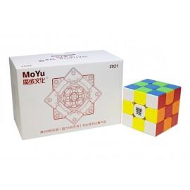 Cubo Rubik MoYu Weilong WRM 3x3 2021 Colored