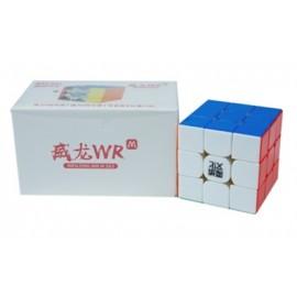 Cubo Rubik MoYu Weilong WRM 3x3 2021 Lite Colored