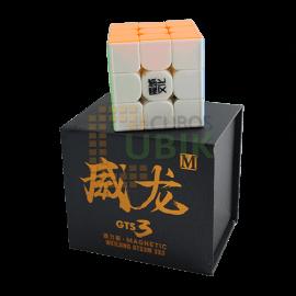 Cubos Rubik Moyu Weilong GTS3M 3x3 Magnético Colored