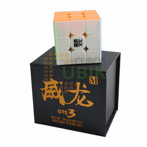 Cubos Rubik Moyu Weilong GTS 3 M 3x3 Colored