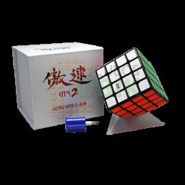Cubos Rubik Moyu Aosu GTS 2 4x4 Negro