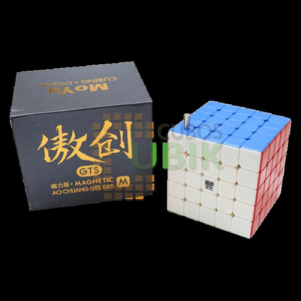 Cubos Rubik Moyu Aochuang GTS M 5x5 Colored