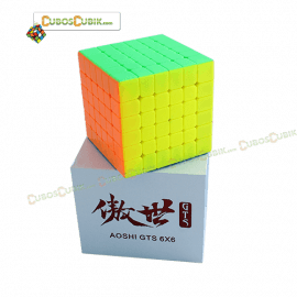 Cubos Rubik Moyu AoShi GTS 6x6 Colored