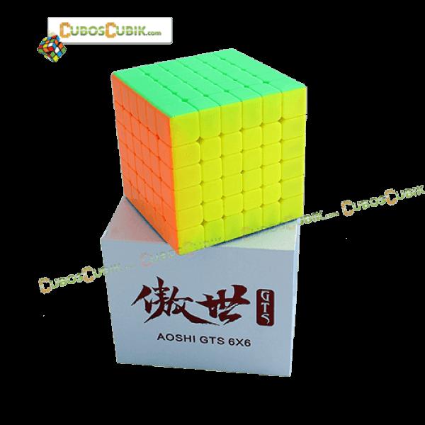 Cubos Rubik Moyu AoShi GTS 6x6 Colored