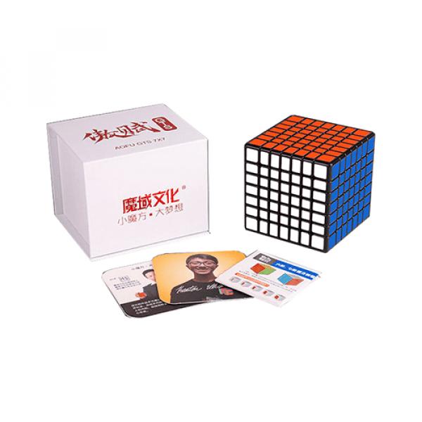Cubos Rubik Moyu Aofu GTS 7x7 Negro
