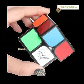 Cubos Rubik Moyu GuoGuan XingHen 2x2 Base Negra