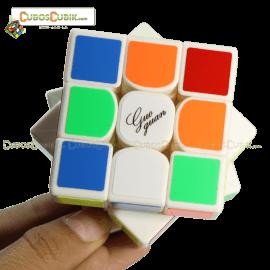 Cubos Rubik Moyu GuoGuan YueXiao 3x3 Base Blanca