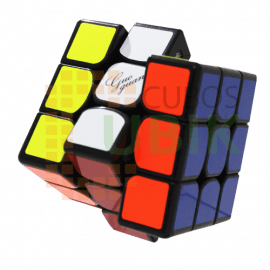 Cubos Rubik Moyu GuoGuan YueXiao EDM 3x3 Magnético Negro