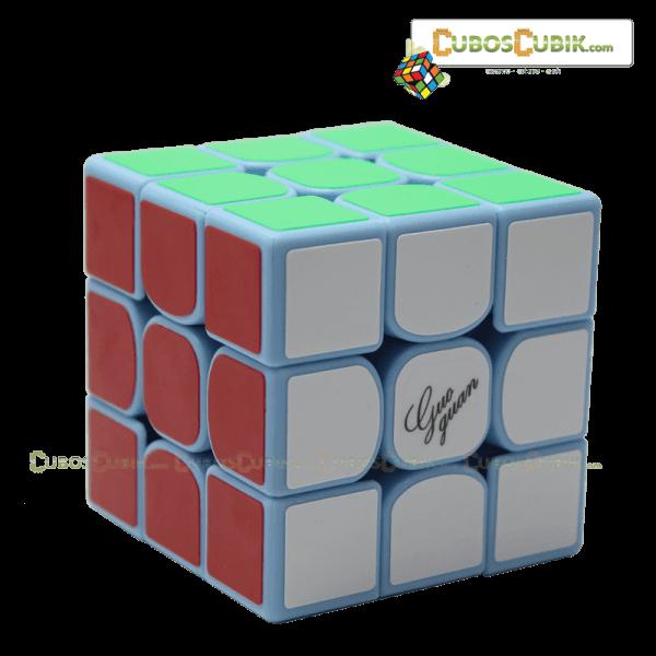 Cubos Rubik Moyu GuoGuan YueXiao 3x3 Base Azul