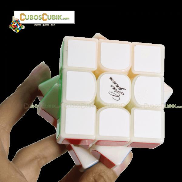Cubos Rubik Moyu GuoGuan YueXiao 3x3 Base Milk