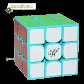 Cubos Rubik Moyu GuoGuan YueXiao 3x3 Base Verde